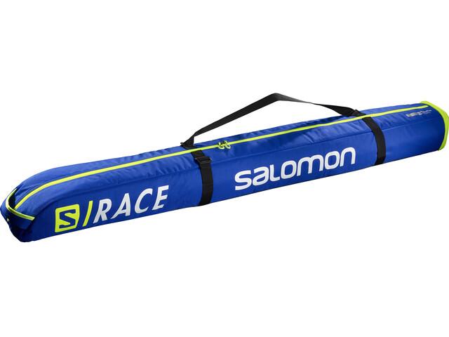 Salomon Extend 165+20 Bolsa para Esquís 1P Acolchado, race blue